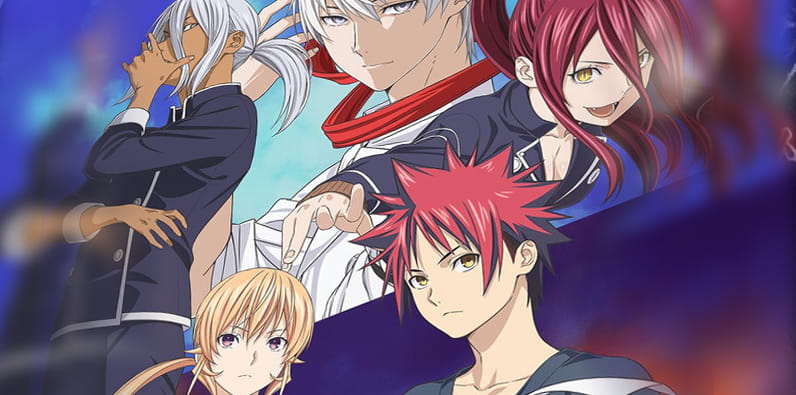 Food Wars Anime – It's delicious!